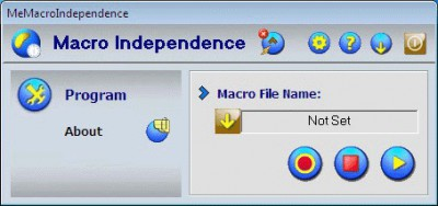 Macro Independence 21.0 screenshot