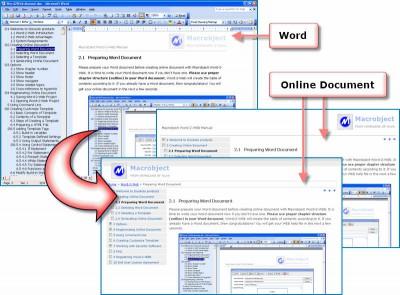 Macrobject Word-2-Web 2007 Professional 2007.13.91 screenshot
