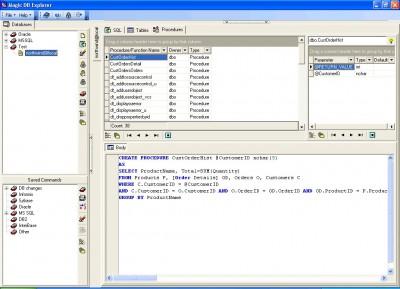 Magic DB Explorer 2.5.1 screenshot