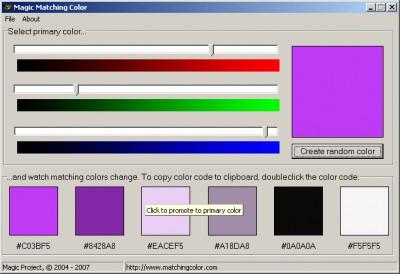 Magic Matching Color 1.3 screenshot