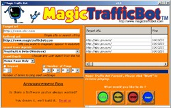 Magic Traffic Bot 1.1 screenshot