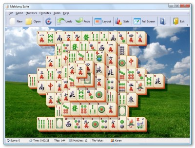 MahJong Suite 18.0 screenshot