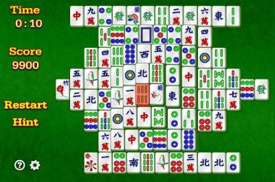 Mahjongg 1.10.1 screenshot