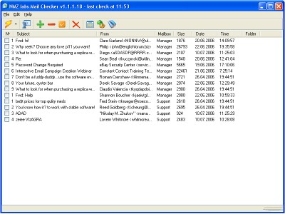 Mail Checker 1.1.2.19 screenshot