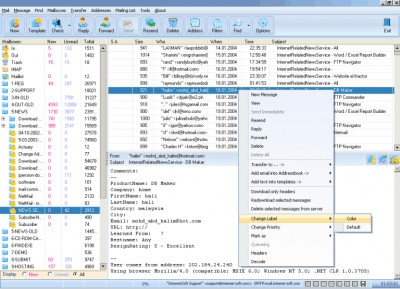 Mail Commander Pro 10.61 screenshot