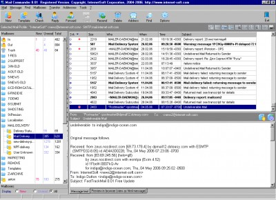 Mail Commander 9.0 screenshot