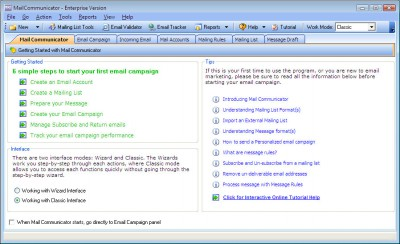 Mail Communicator 3.0 screenshot