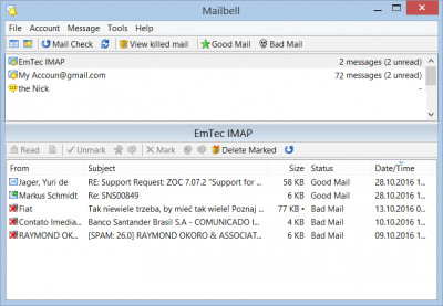MailBell (Email Notify, Spam Blocker) 2.63 screenshot