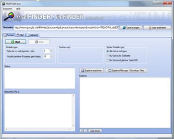 MailFinder pro 6.4.4 screenshot
