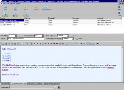 Mailing List Express 6.80 screenshot