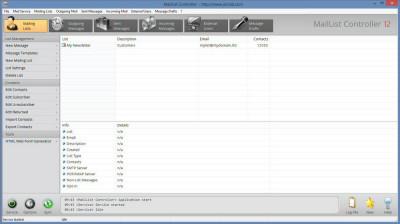 MailList Controller Free 12.8 screenshot