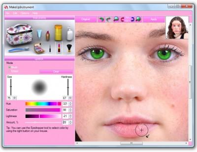 MakeUp Instrument 7.4 screenshot