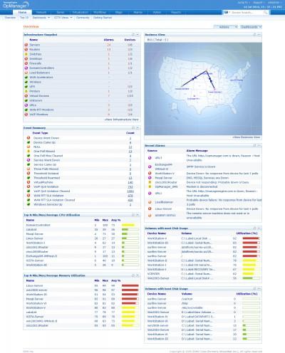 ManageEngine OpManager 10.0 screenshot