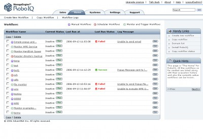 ManageEngine RoboIQ (IT Process Automation) 2 screenshot