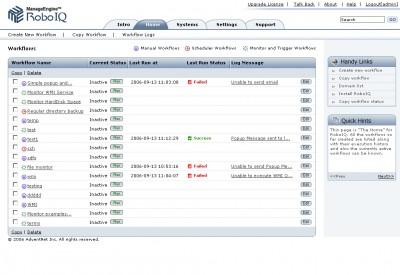 ManageEngine RoboIQ (IT Process Automation) 2 screenshot