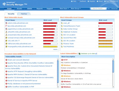 ManageEngine Security Manager Plus 5 screenshot
