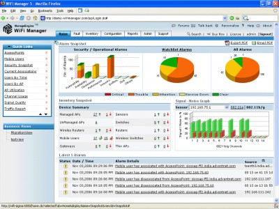 ManageEngine WiFi Manager 5.6 screenshot