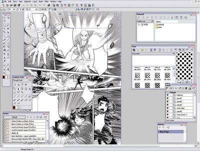 Manga Studio 3.0 screenshot