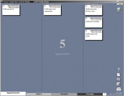 Manny's Simple Note Cards 1.17 screenshot
