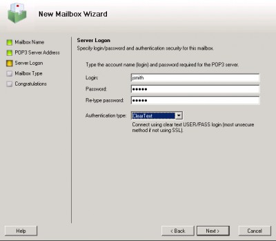 MAPILab POP3 Connector 2.10.2 screenshot