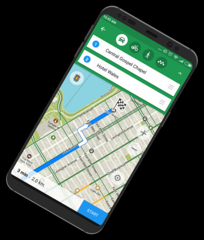 MAPS.ME for Android 8.3.6-Goog screenshot