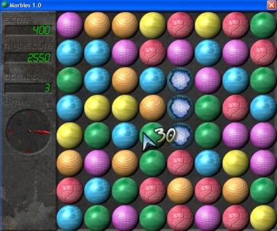 Marbles 1.2 screenshot