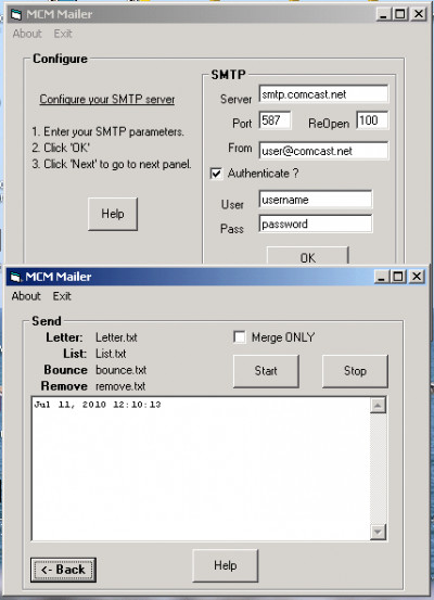 Marshallsoft Client Mailer for C/C++ 5.2 screenshot