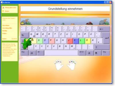 Maschinenschreiben ala Scriberius 3.3 screenshot