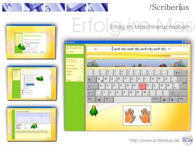 Maschinenschreiben Scriberius 1.0.72 screenshot