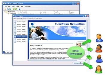 Mass Email Software 2.2 screenshot