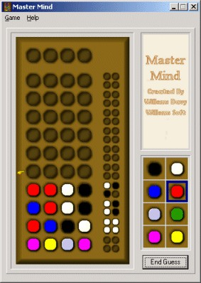 Master Mind 1.0 screenshot