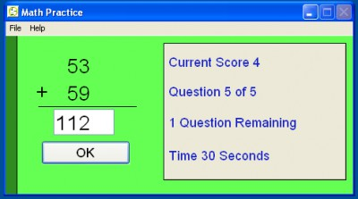 Math Flash 4.6 screenshot