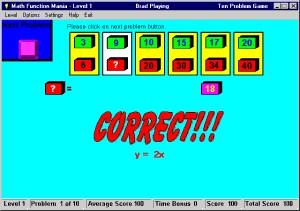 Math Function Mania 3.0 screenshot