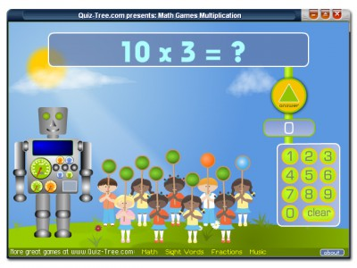Math Games Multiplication 1.1 screenshot
