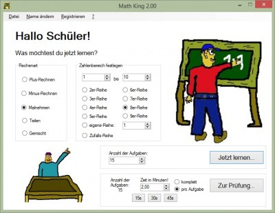 Math King 2.00 screenshot