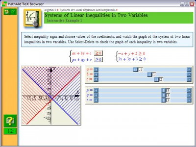 MathAid Algebra II 25.63 screenshot
