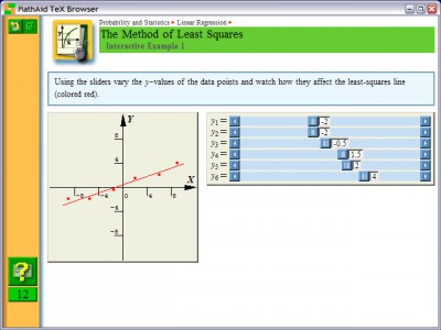 MathAid Probability and Statistics 25.63 screenshot