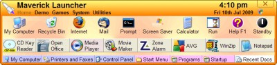Maverick Launcher 3.8 screenshot