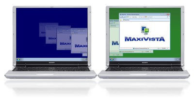 MaxiVista - Multi Monitor Software 4.0.12 screenshot
