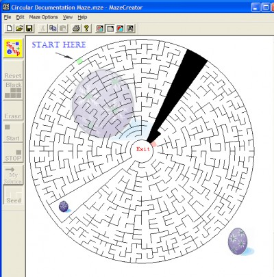 Maze Creator HOME 1.96 screenshot