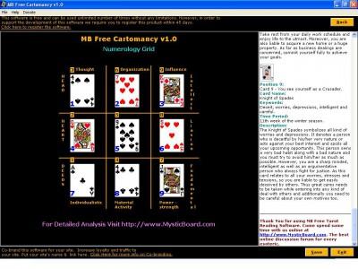 MB Cartomancy 1.40 screenshot