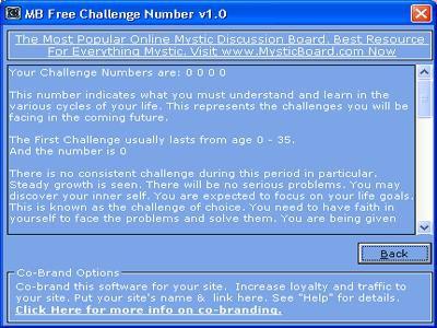 MB Challenge Number 1.65 screenshot