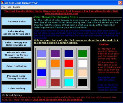 MB Color Therapy 1.55 screenshot