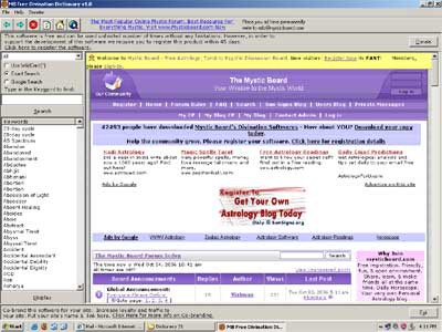 MB Divination Dictionary 1.85 screenshot