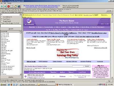 MB Numerology Dictionary 1.75 screenshot