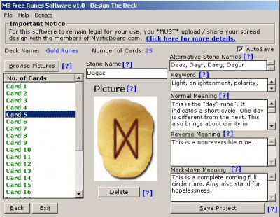 MB Runes Software 1.75 screenshot