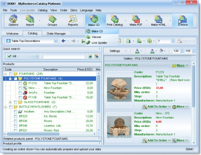 MBCatalog FREE 10.0.0 screenshot