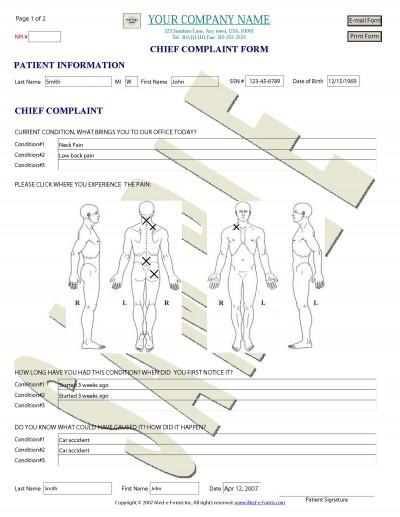 Med-e-Forms 1.0.0.0 screenshot