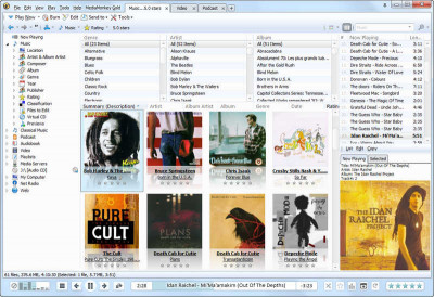 MediaMonkey 4.1.31.191 screenshot