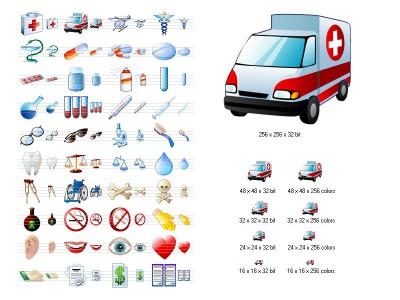 Medical Icon Set 3.8 screenshot
